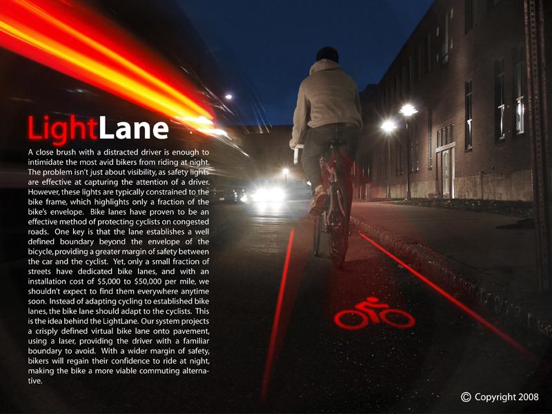 Der Light Lane-Entwurf