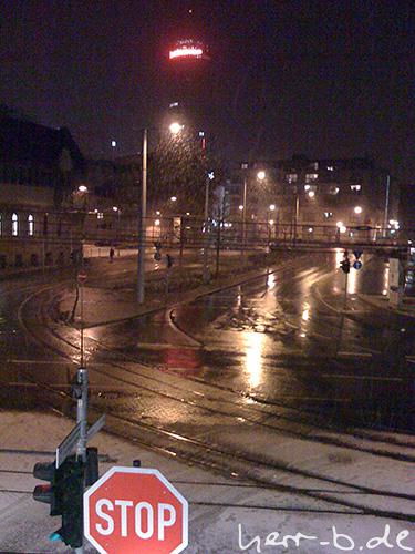 Schnee in der Nacht