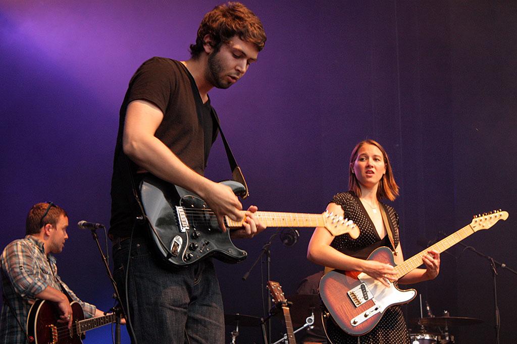 Sophie Hunger & Band | Foto by Nancy Droese | kulturarena.de