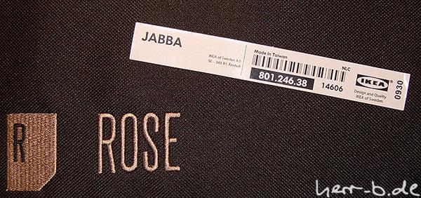 Jabba von IKEA