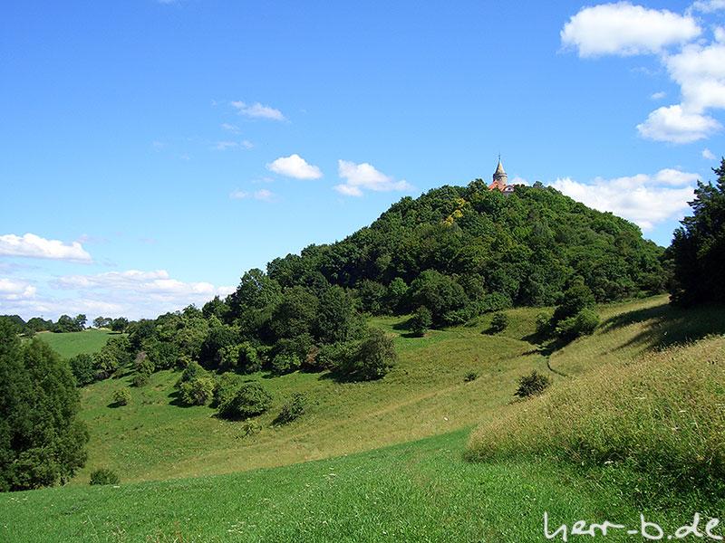 Nordseite der Leuchtenburg