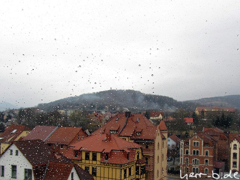 Regentagsaussicht