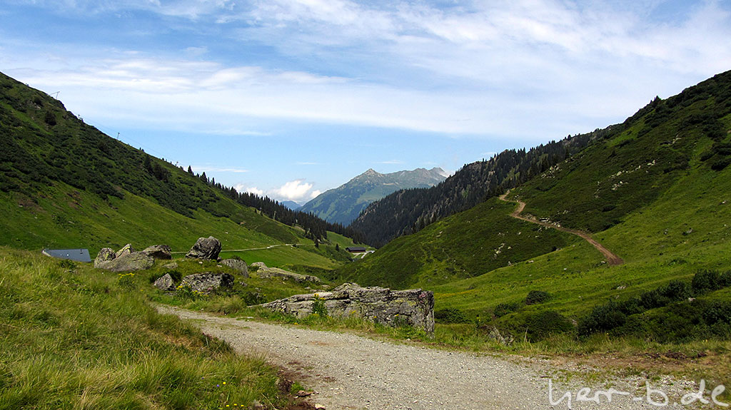 Blick auf die Nova Alpe