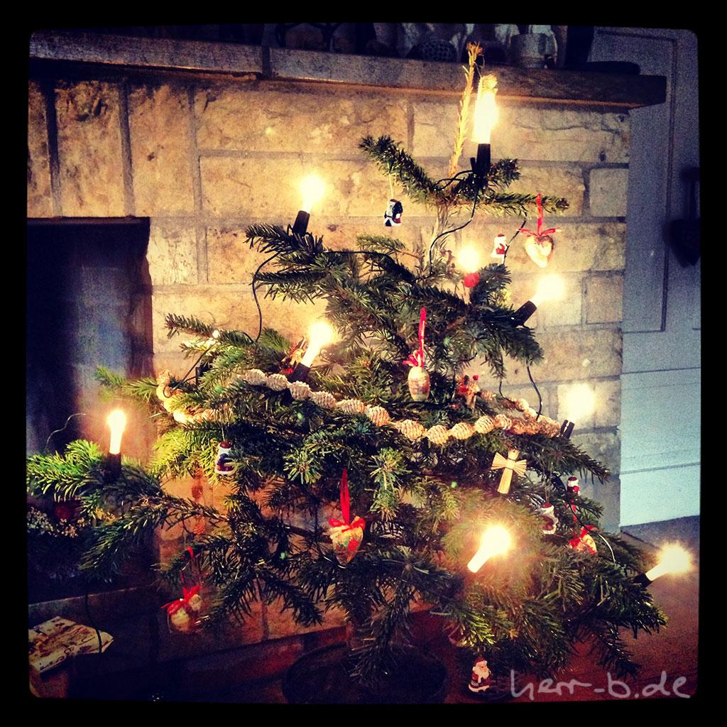 Schiefster Weihnachtsbaum