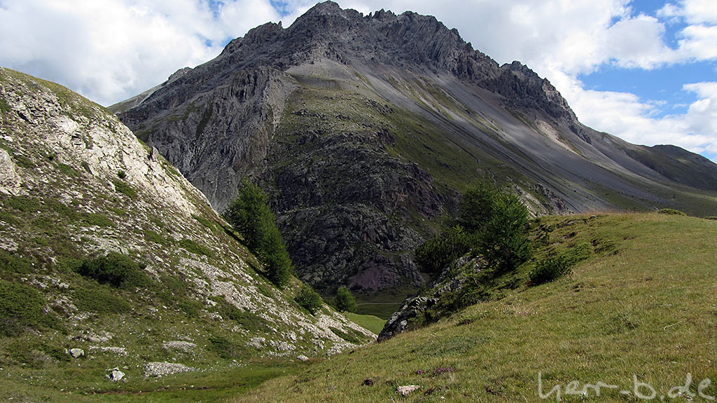 Wunderschöne Landschaft am Passo Trela