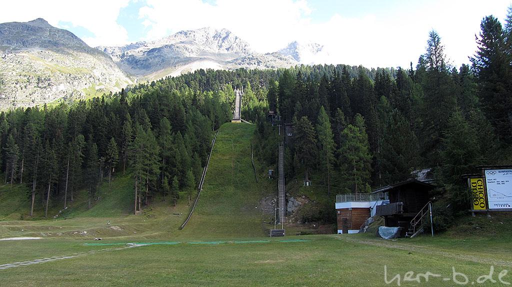 Olympiaschanze von St. Moritz