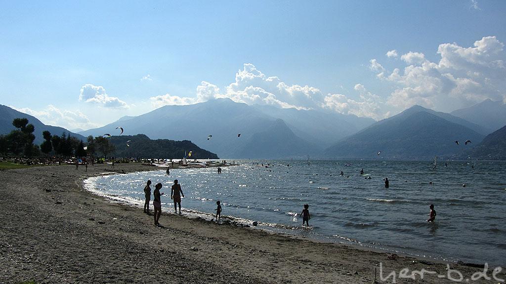 Am Ziel: Lago di Como