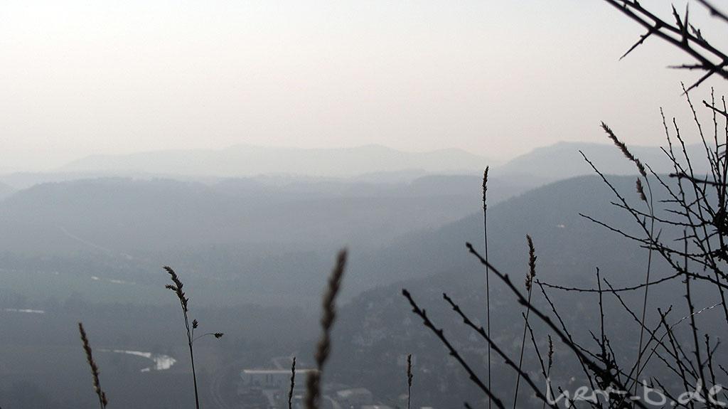 Hügelkonturen bei Kahla