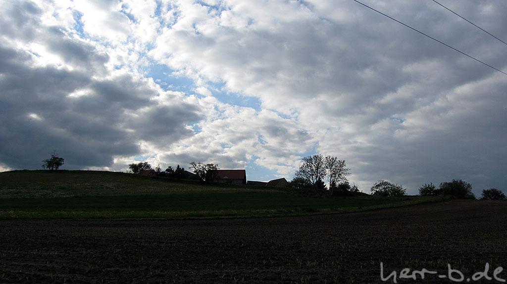 Thüringer Wolken.