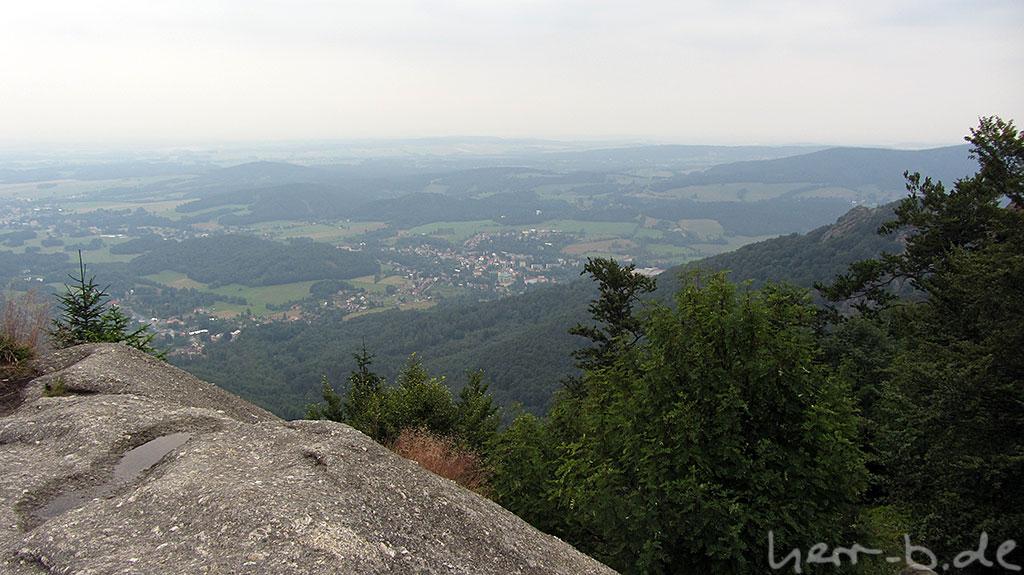 Unbekannte Aussicht irgendwo in Tschechien