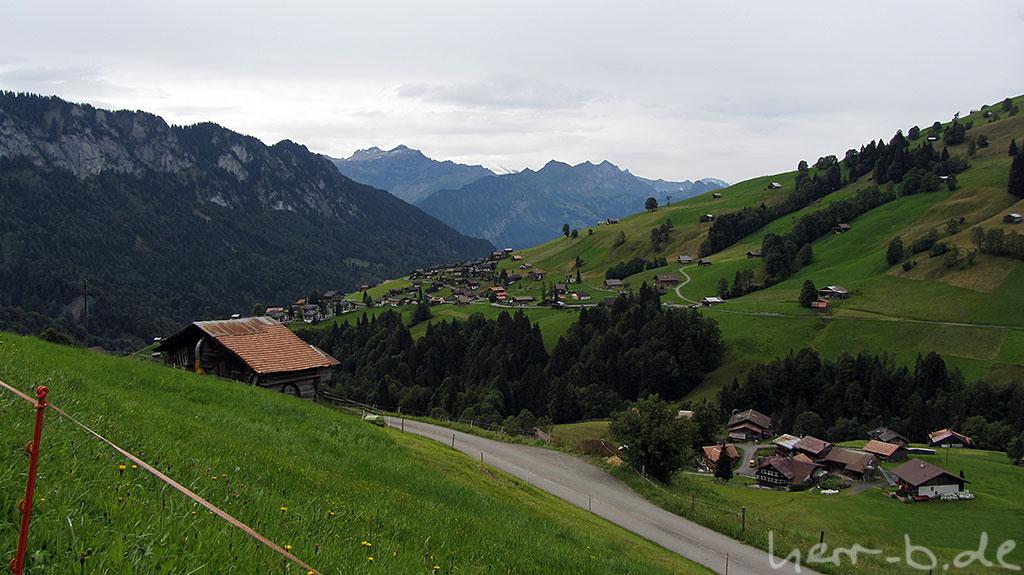 Abfahrt Richtung Interlaken