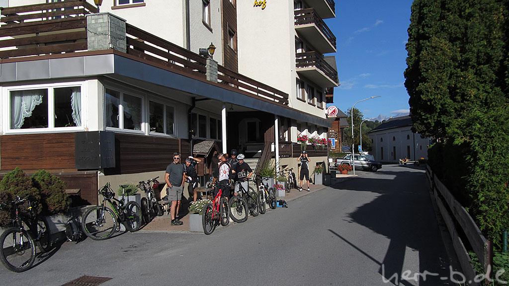 Start in Unterbäch