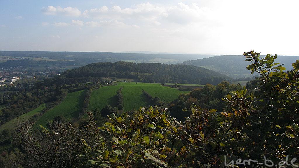 Blick Richtung Galgenberg und Walpersberg