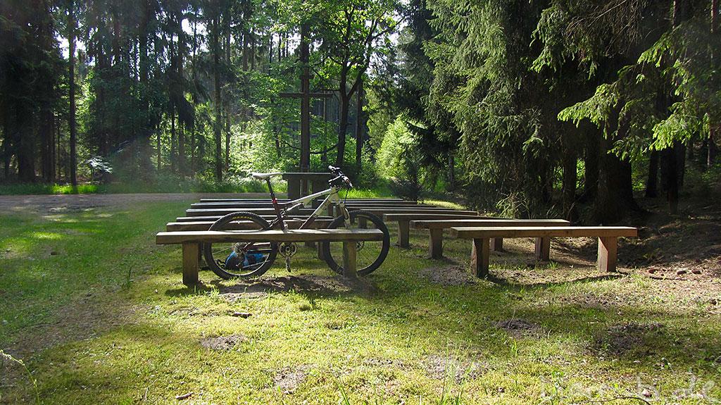Jabba Wood in der Waldkirche