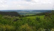 Blick zurück zur Leuchtenburg