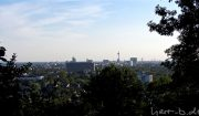 Schöne Aussicht über Düsseldorf