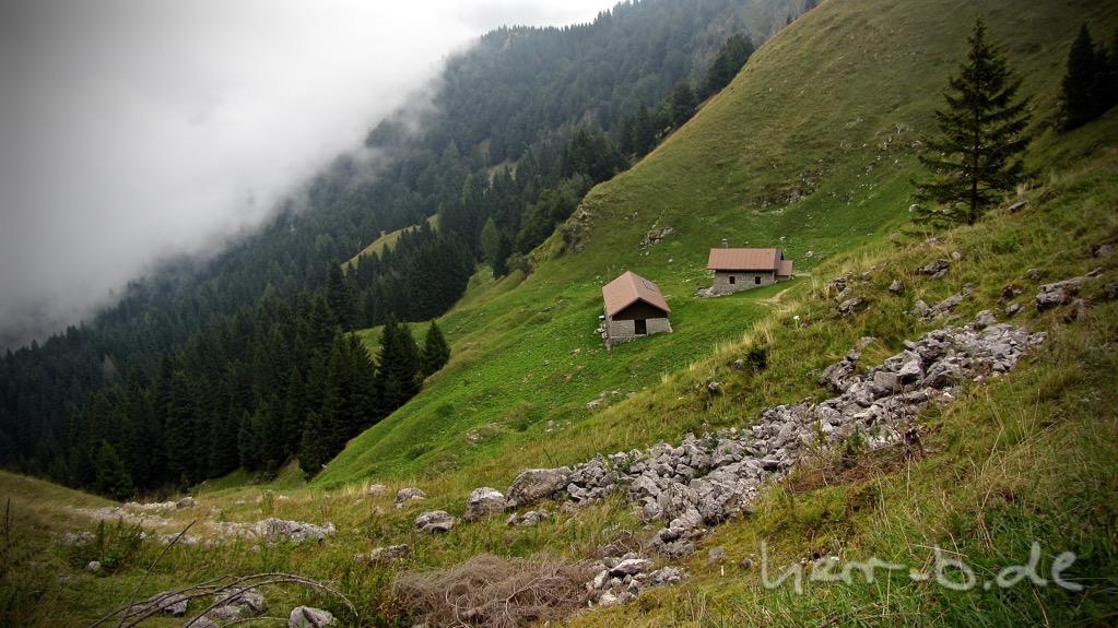 Berglandschaft am Monte Grappa.