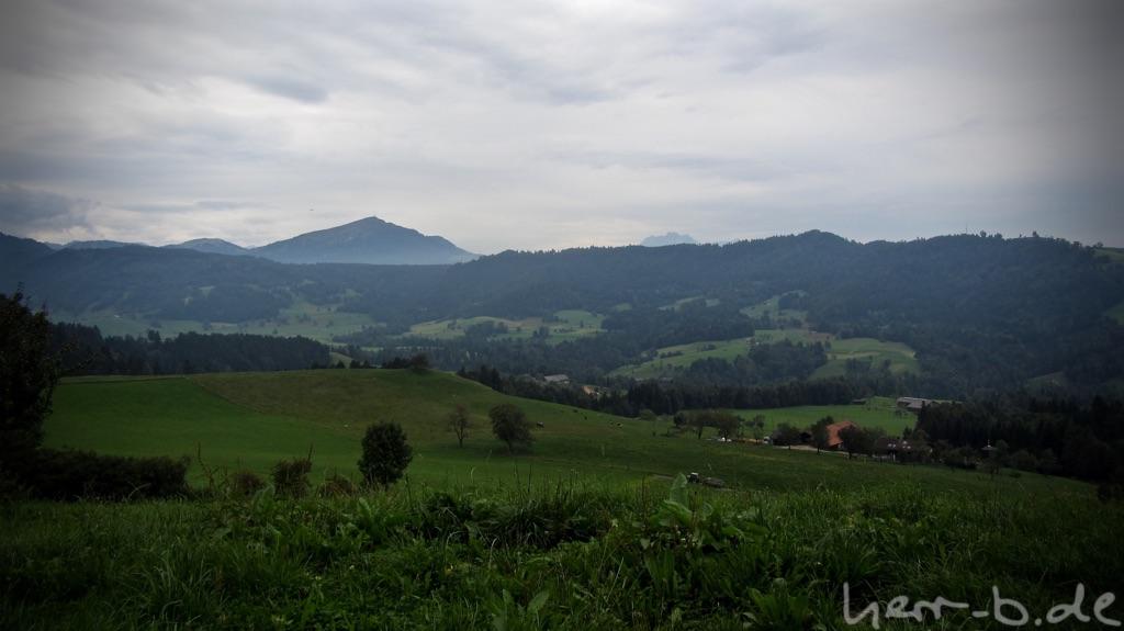 Bewölkte Schweiz
