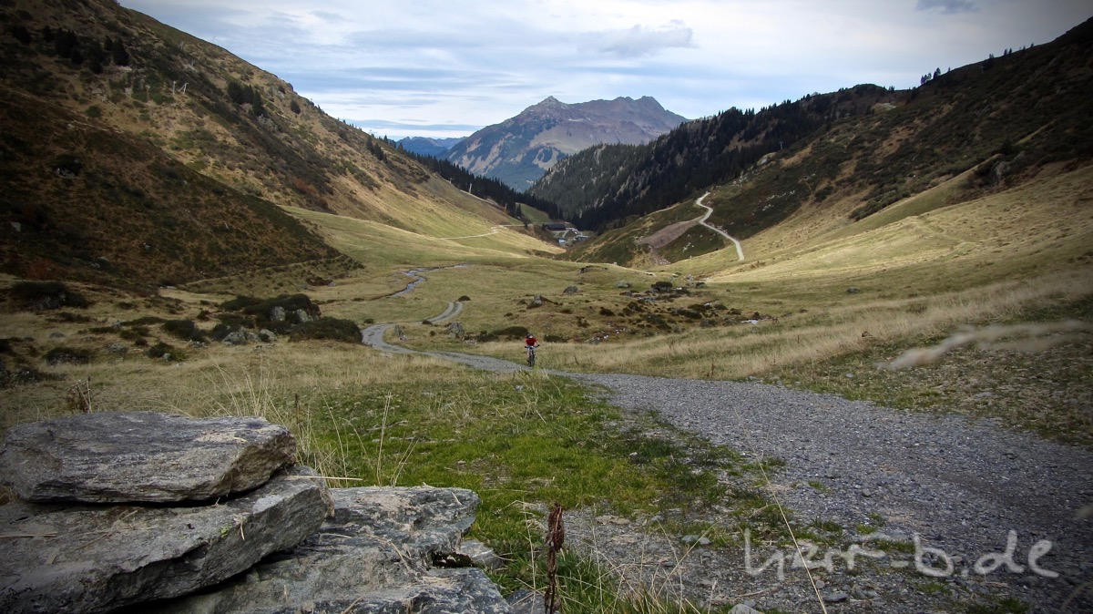 Blick zurück zur Alpe Nova.