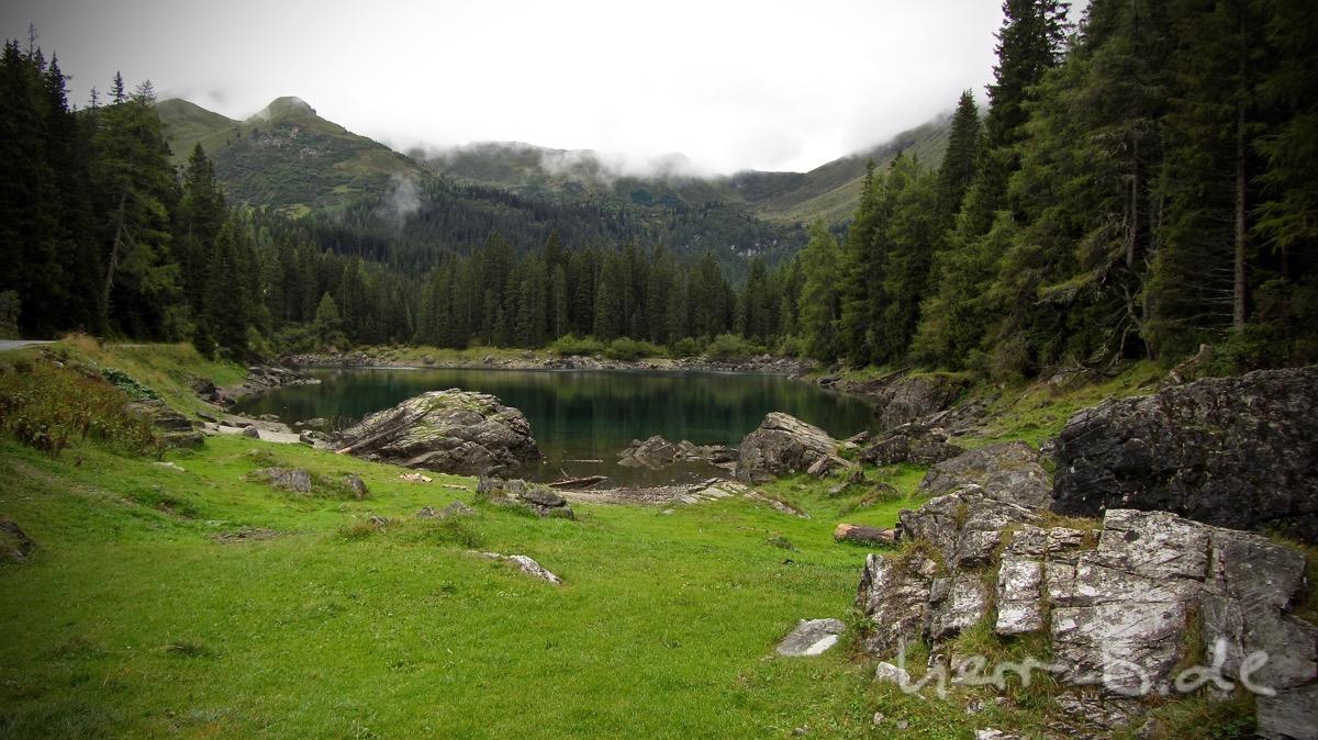 Der Obernberger See.