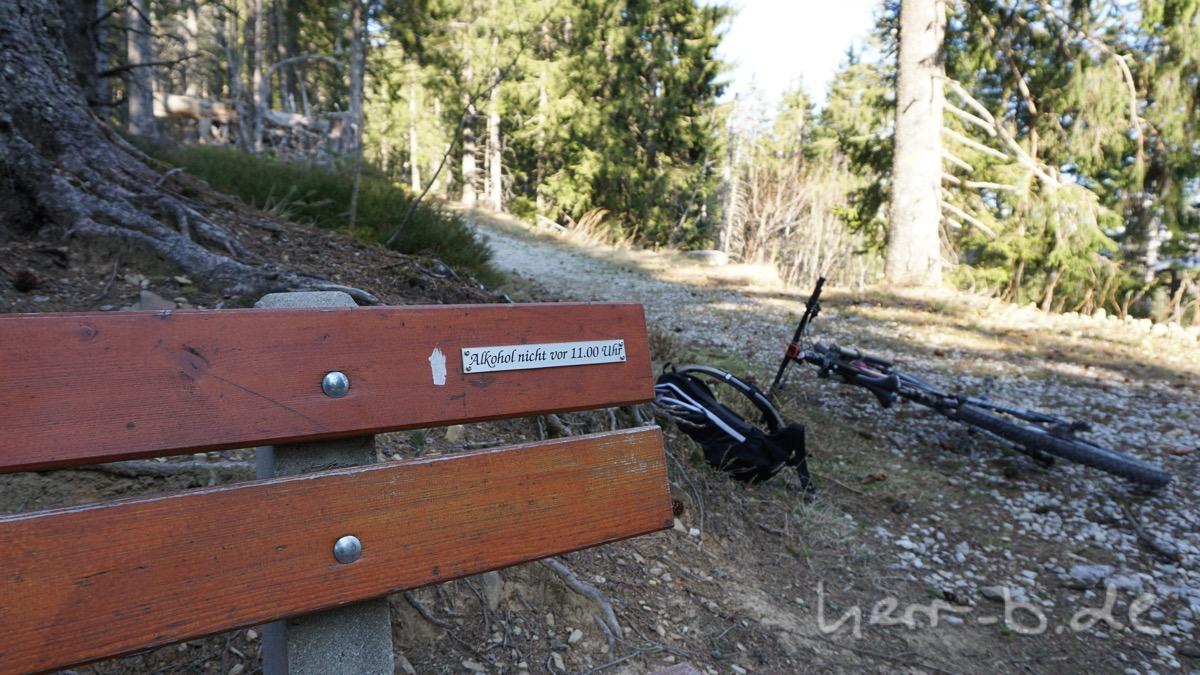 Wichtiger Hinweis im Gurnigel-Gantrisch-Skigebiet.