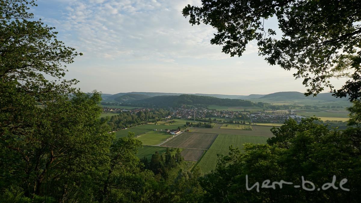 Ausblick vom Helenstein.