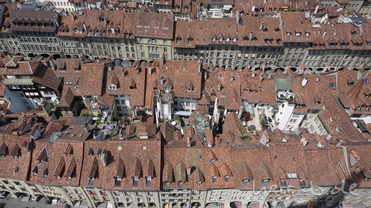 Berner Altstadt von oben.