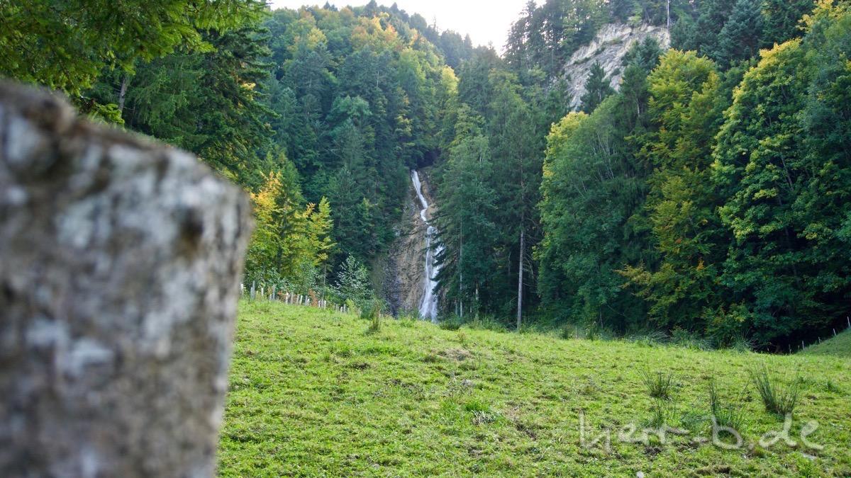 Der Fallbach-Wasserfall.