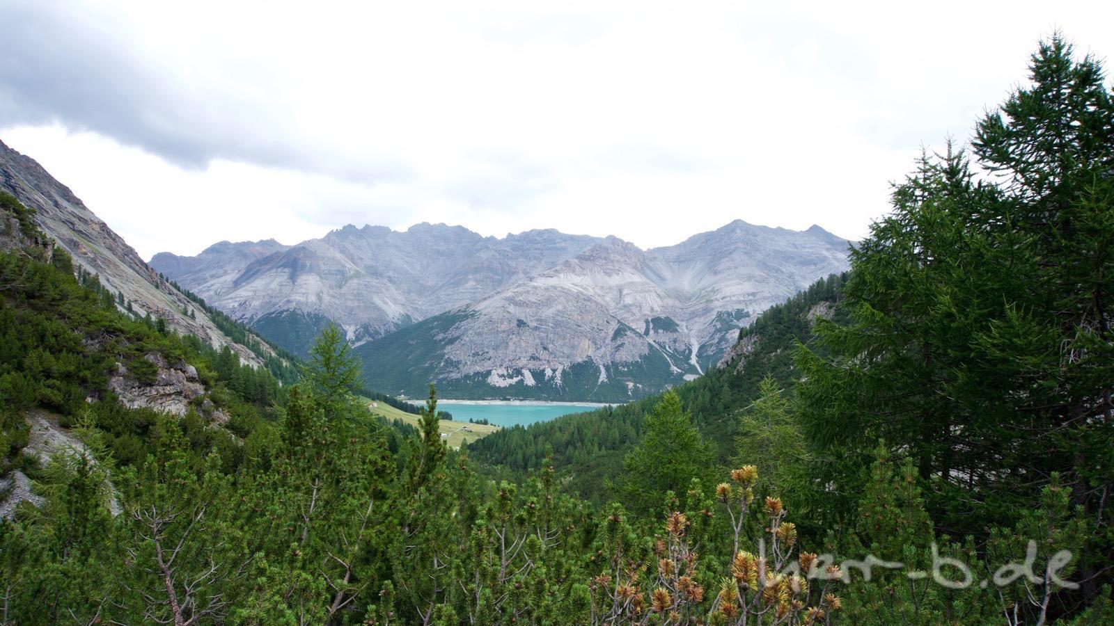 Der Anstieg vom Lago di San Giacomo zur Alpe Trela.